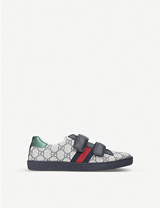 GUCCI:New Ace VL 运动鞋 8-11 岁