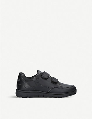 GEOX: Xunday leather trainers 4-8 years