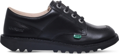 KICKERS Kick Lo leather shoes 7-9 years