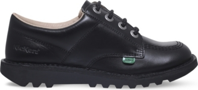 KICKERS Kick Lo leather shoes 9-11 years