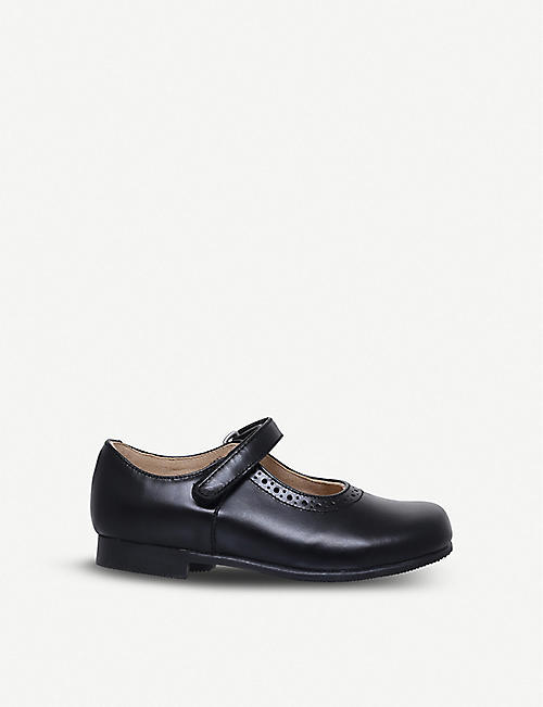START RITE: Delphine leather Mary Jane shoes 4-5 years