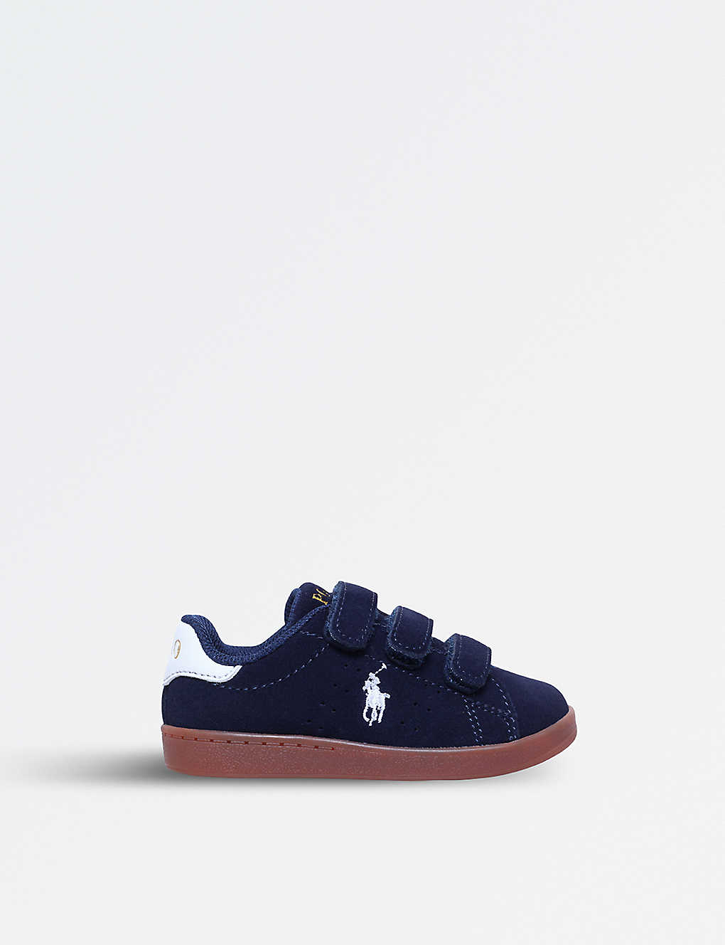 5040f388 POLO RALPH LAUREN - Quincey Court EZ suede trainers 1-4 years ...
