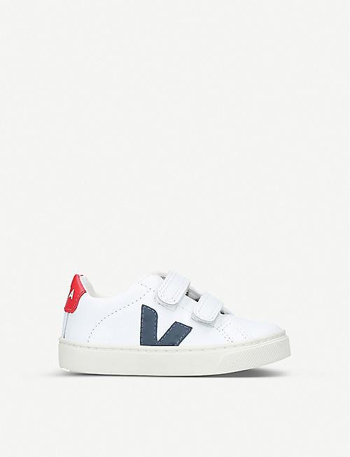VEJA: Esplar leather trainers 2-5 years