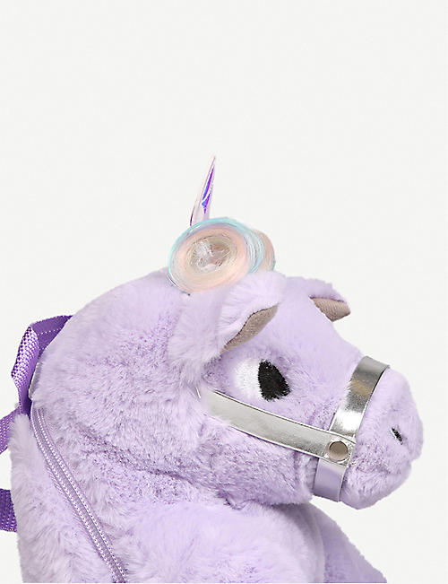 MINI MISS KG Magical Unicorn plush backpack
