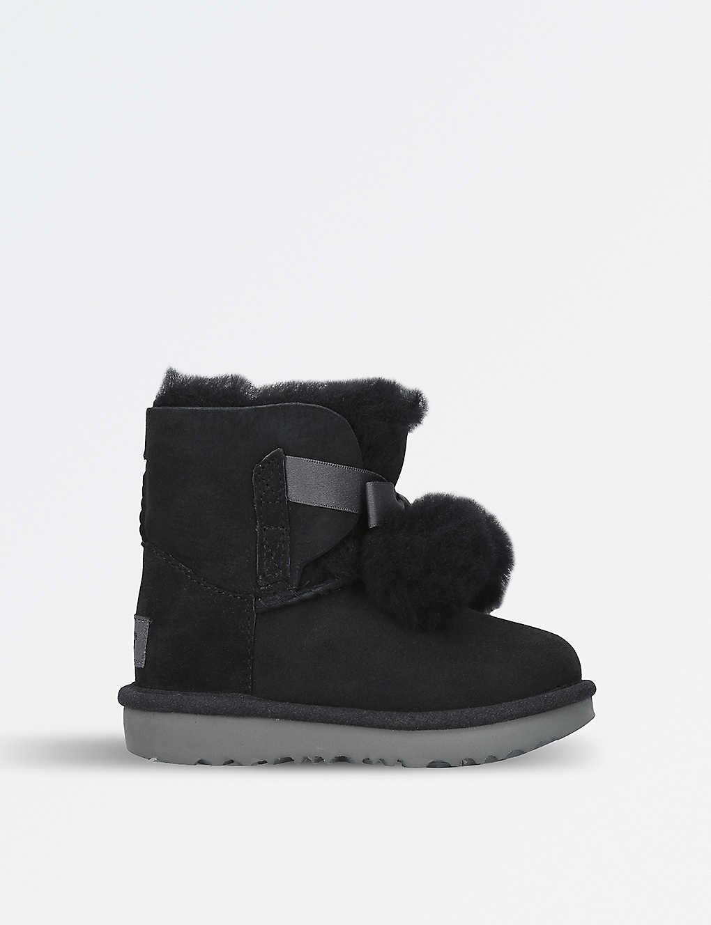 5d9fd2985d0 UGG - Gita pom pom sheepskin boots 3-7 years | Selfridges.com