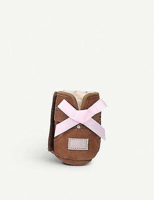 UGG Jesse bow suede boots