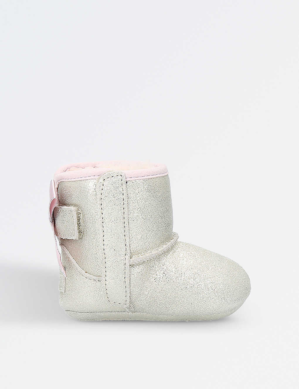 UGG: Jesse bow metallic suede boots