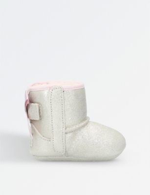 UGG Jesse bow metallic suede boots