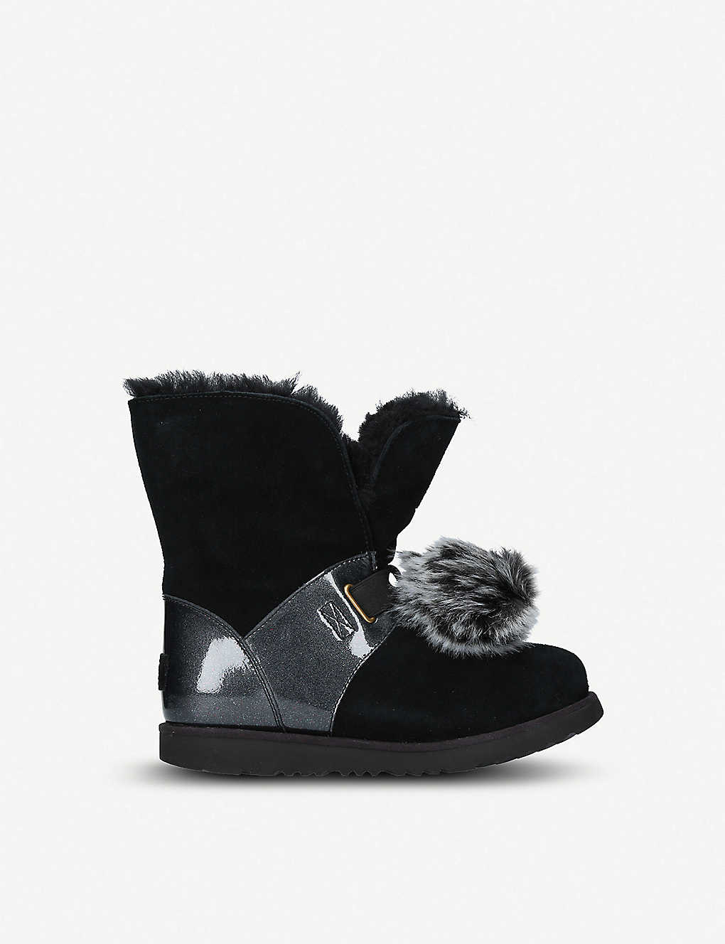 a0195c92d80 UGG - Isley waterproof leather pom pom boots 5.5-9.5 years ...