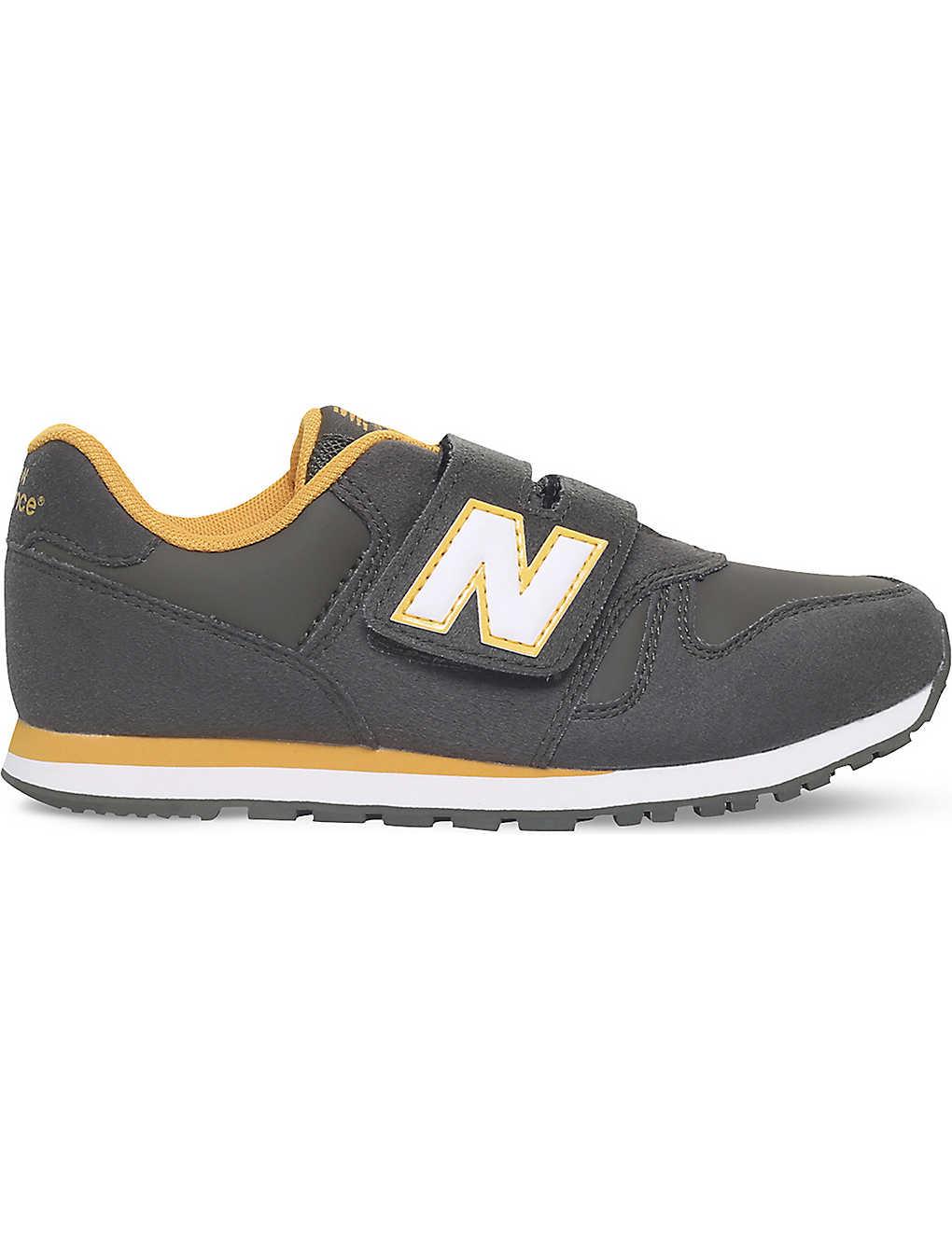 a933b04820384 NEW BALANCE - 373 suede trainers 6 - 11.5 years | Selfridges.com