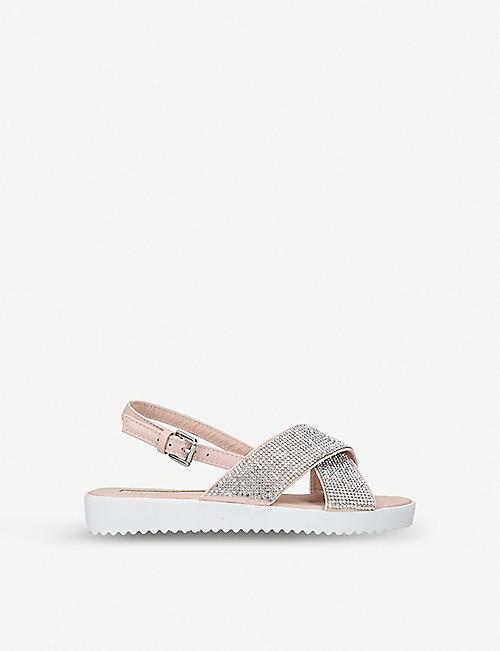e6e8b2ee9269 MINI MISS KG Krypton rhinestone-embellished sandals 7-10 years