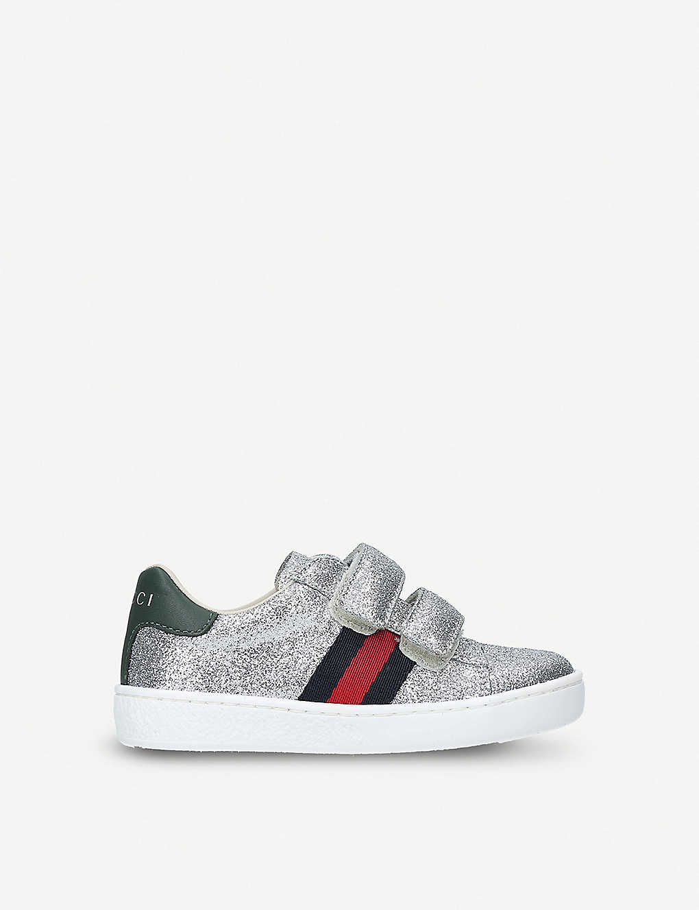 GUCCI: New Ace VL glitter trainers 2-5 years