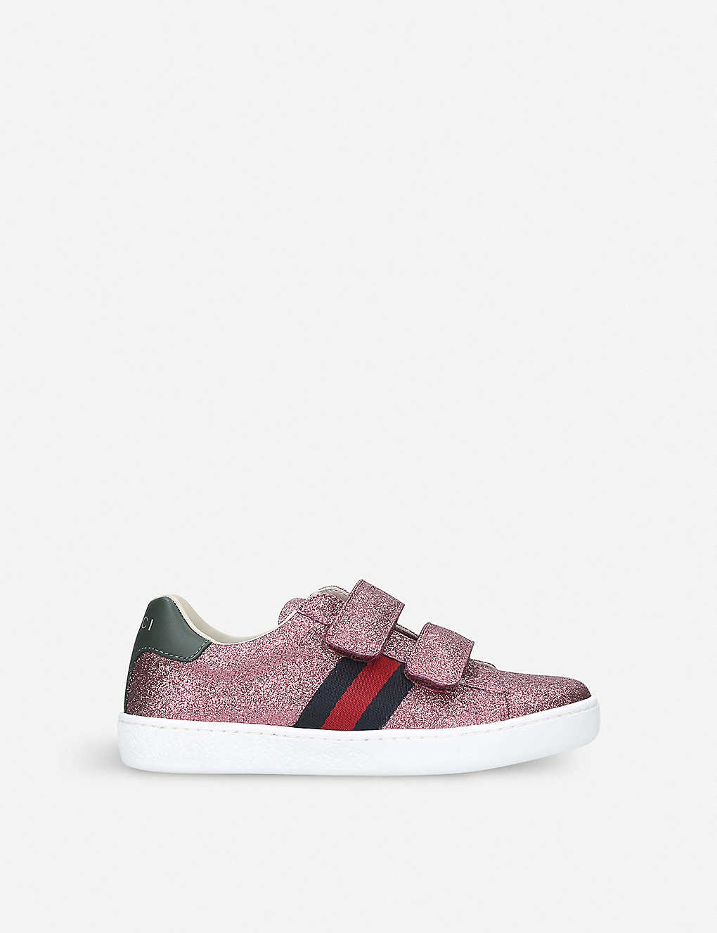 GUCCI: New Ace VL glitter trainers 4-8 years