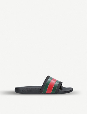 GUCCI Pursuit rubber sliders 4-8 years