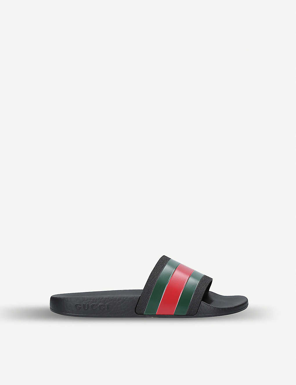 GUCCI: Pursuit rubber sliders 4-8 years