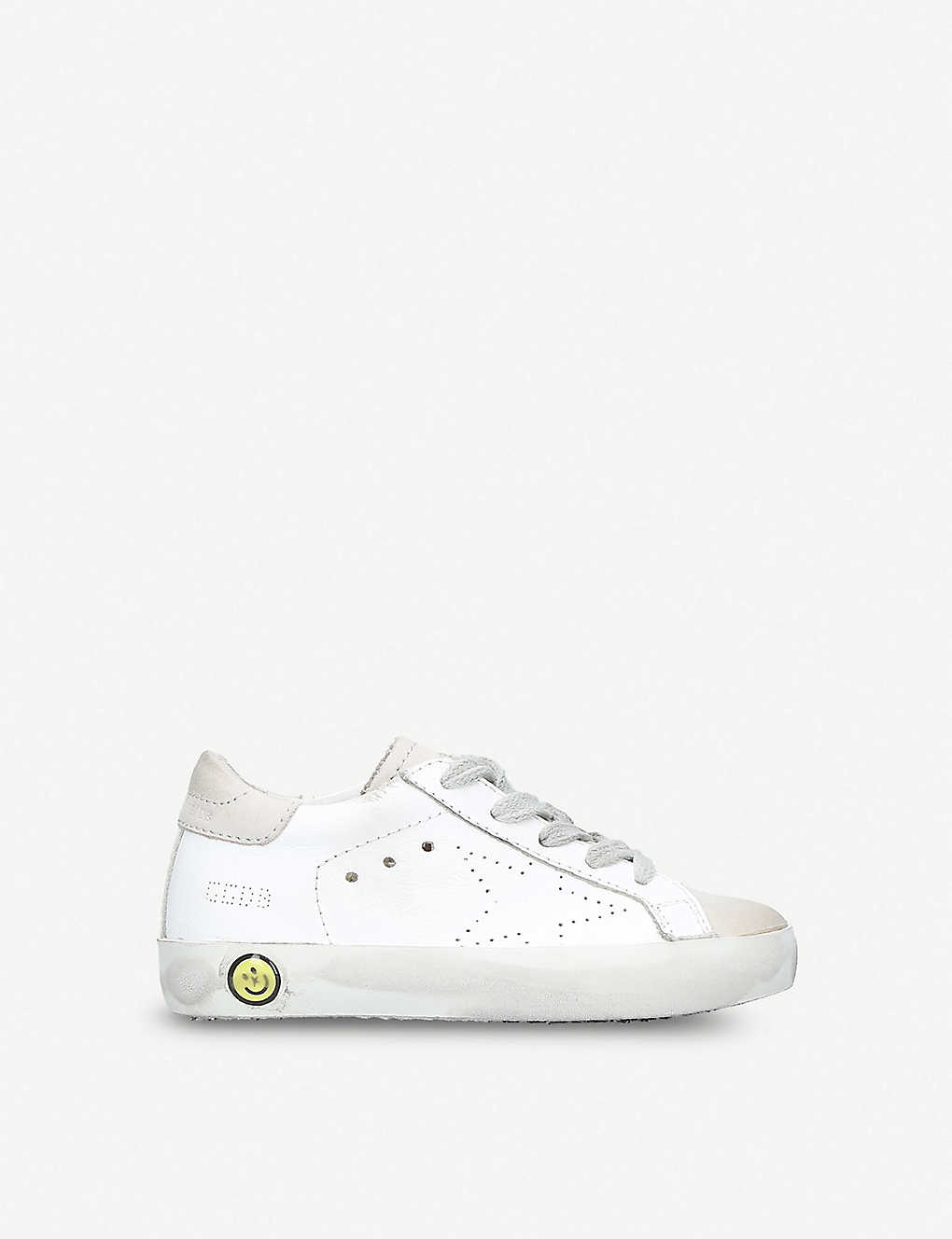 a7fa7432d092f GOLDEN GOOSE - Superstar leather trainers 1-5 years | Selfridges.com