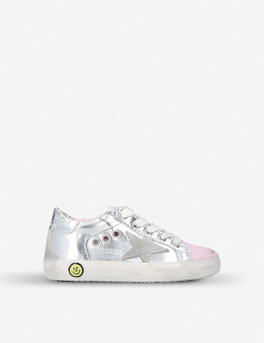 71df186f5312f GOLDEN GOOSE - Superstar leather trainers 1-4 years | Selfridges.com