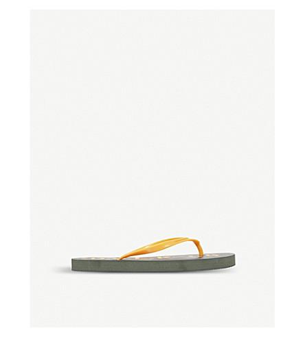 d6d363da1dc59b DIESEL Camouflage print flip flops (Green+comb