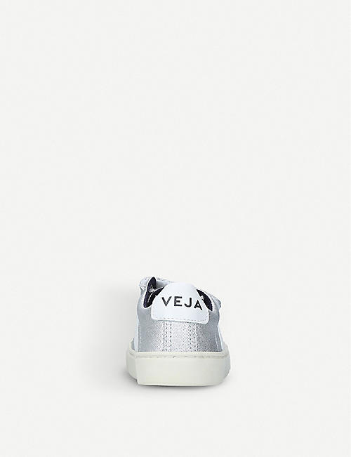 VEJA Esplar metallic-canvas trainers 2-9 years