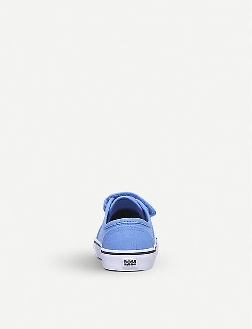 BOSS BY HUGO BOSS Stefan low-top canvas trainers 2-5 years