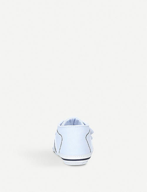 BOSS BY HUGO BOSS Von Trap canvas shoes 0-12 months