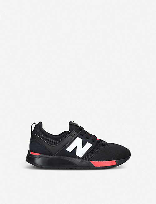 NEW BALANCE 247 low-top mesh trainers 6-9 years