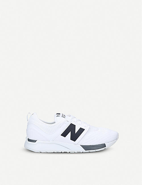 NEW BALANCE: 247 low-top mesh trainers 6-9 years