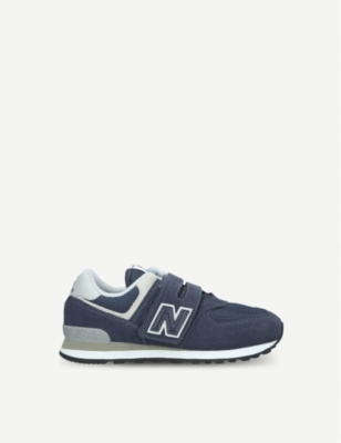 NEW BALANCE 574 suede trainers 6-11 years