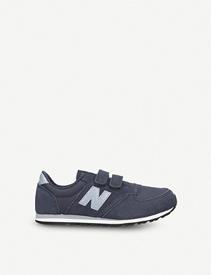NEW BALANCE 420 suede and mesh trainers 7-10 years
