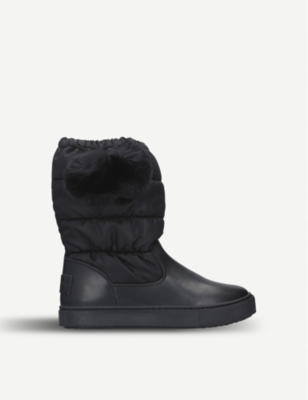 KURT GEIGER LONDON Artic leather boots 7-10 years