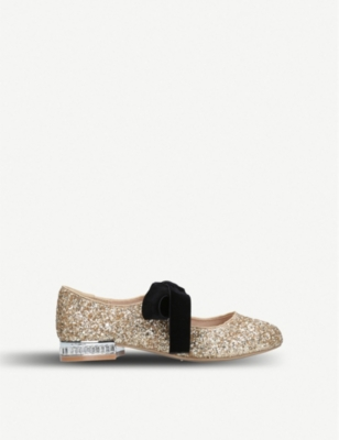 MINI MISS KG Diamond glitter ballerinas