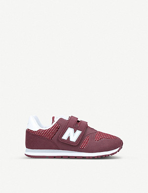 NEW BALANCE 373 mesh low-top trainers 9-12 years