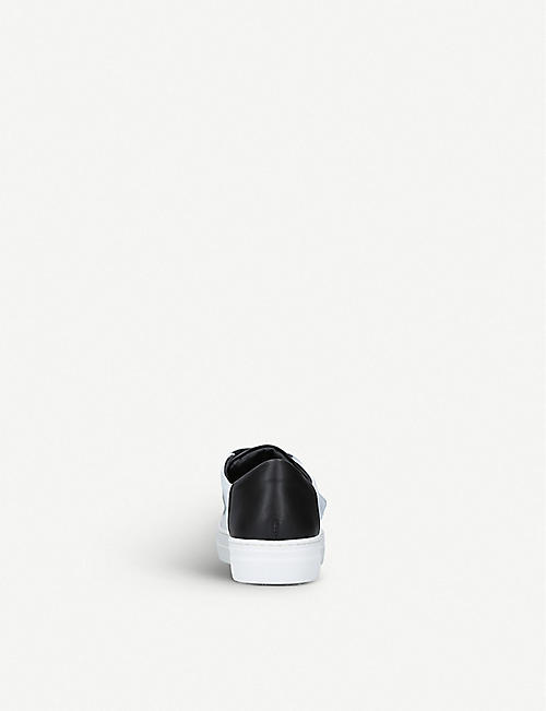 FENDI Scribe low-top leather trainers 6 – 9 years