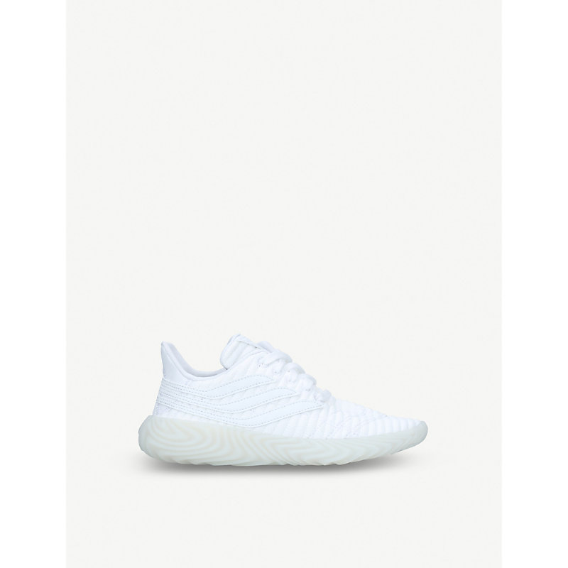 ADIDAS | Sobakov Ribbed-Knit Trainers 6 Months-5 Years | Goxip