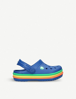 CROCS Crocband™ rainbow band sandals 1-8 years
