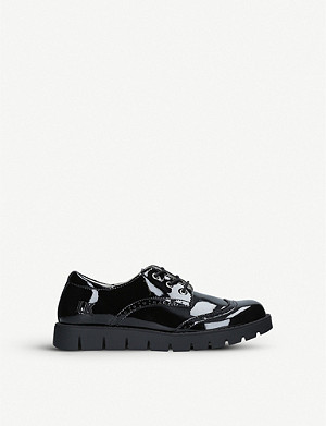 LELLI KELLY Michelle patent-leather brogues 6-8 years