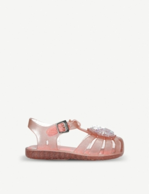 6b514949a7dc MINI MELISSA - Mini Aranha shell jelly shoes 6 months-5 years ...