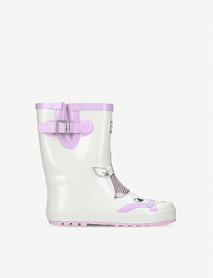 KURT GEIGER LONDON Magical Rainboot unicorn-print wellington boots