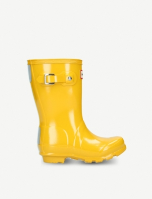 HUNTER Original kids gloss wellington boots 3-7 years