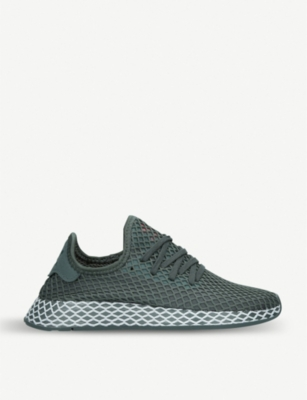 ADIDAS Deerupt junior mesh low-top trainers 9-10 years