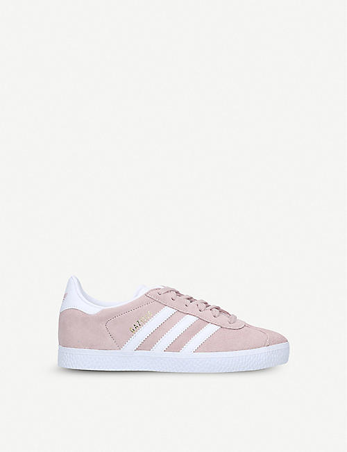 ADIDAS: Gazelle suede trainers 6-9 years
