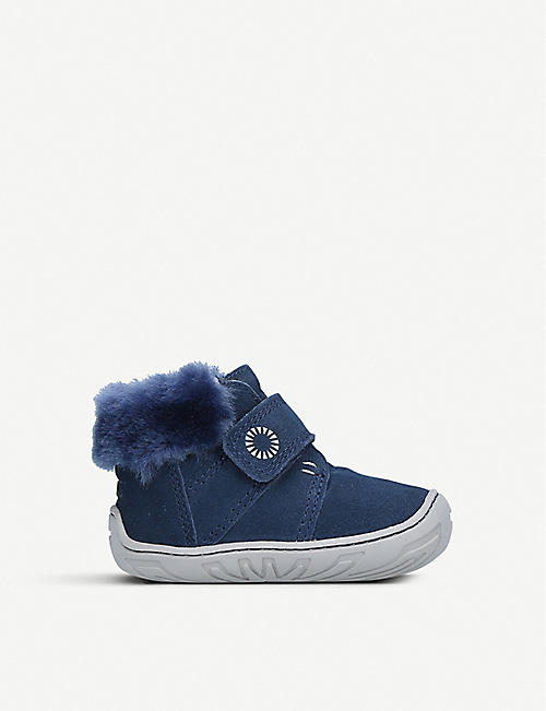UGG Jorgen suede and sheepskin boots