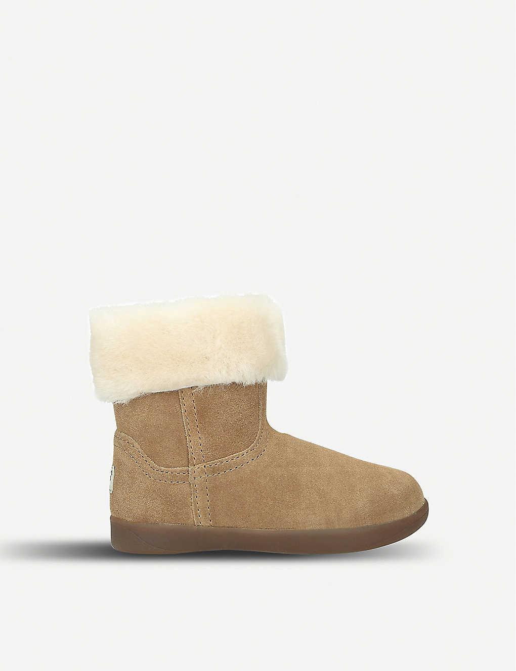 9751f6985e5 Jorie II suede and sheepskin boots