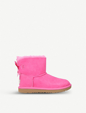 UGG Mini Bailey Bow II sheepskin boots