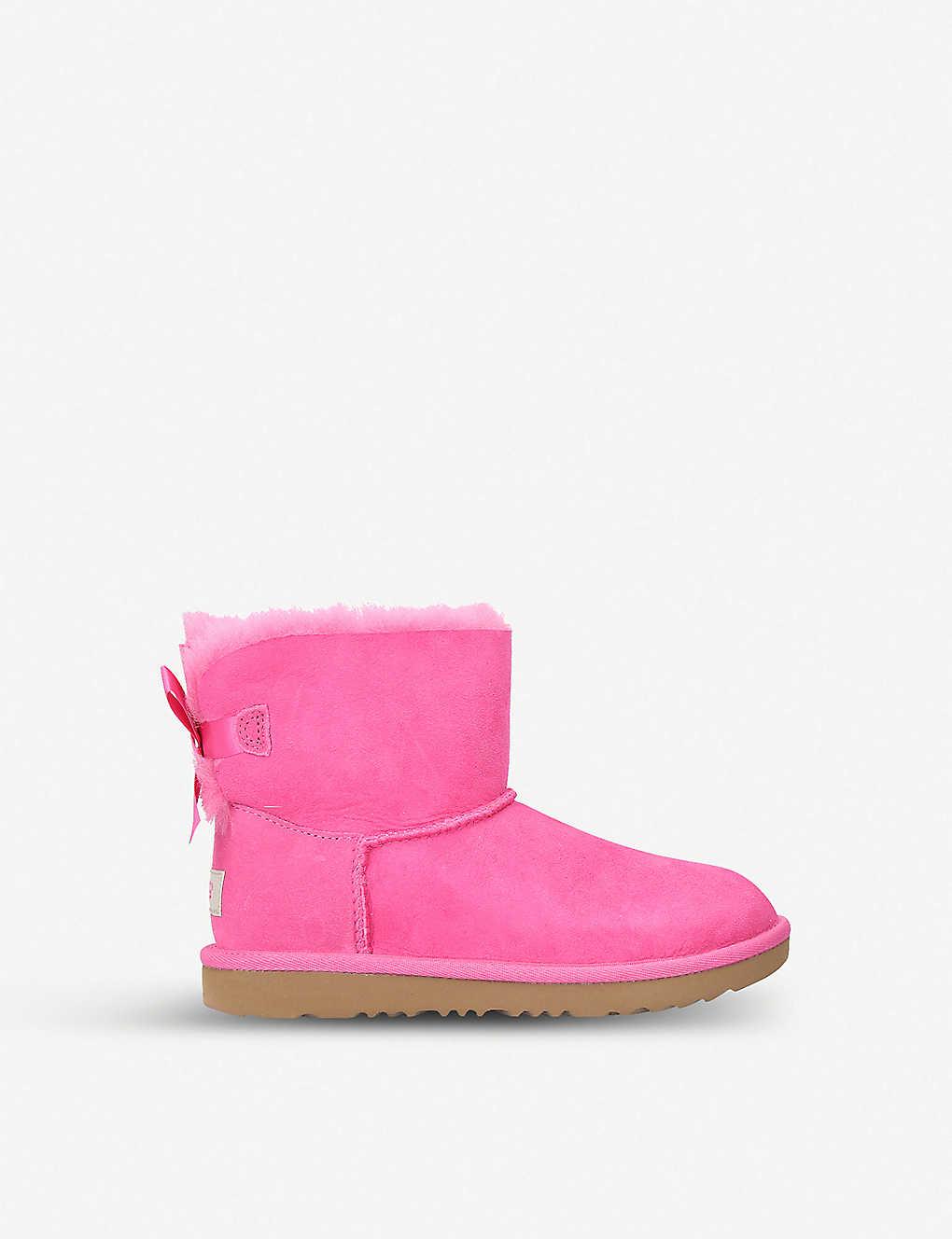 64dd606c118 Mini Bailey Bow II sheepskin boots