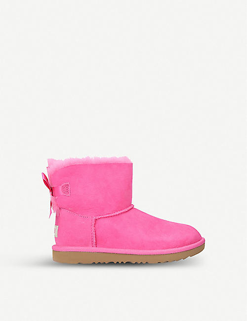 ea6e63657d7 UGG Mini Bailey Bow II sheepskin boots