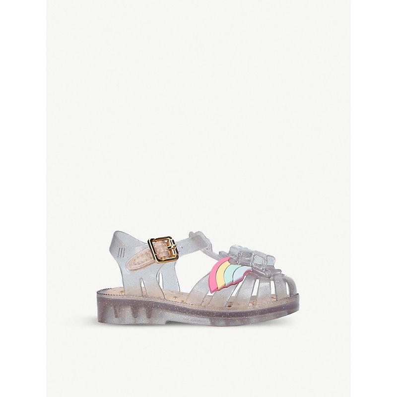 MINI MELISSA | Mini Rainbow Sprite Jelly Shoes 6 Months - 5 Years | Goxip