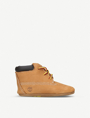TIMBERLAND Crib suede booties 0-6 months