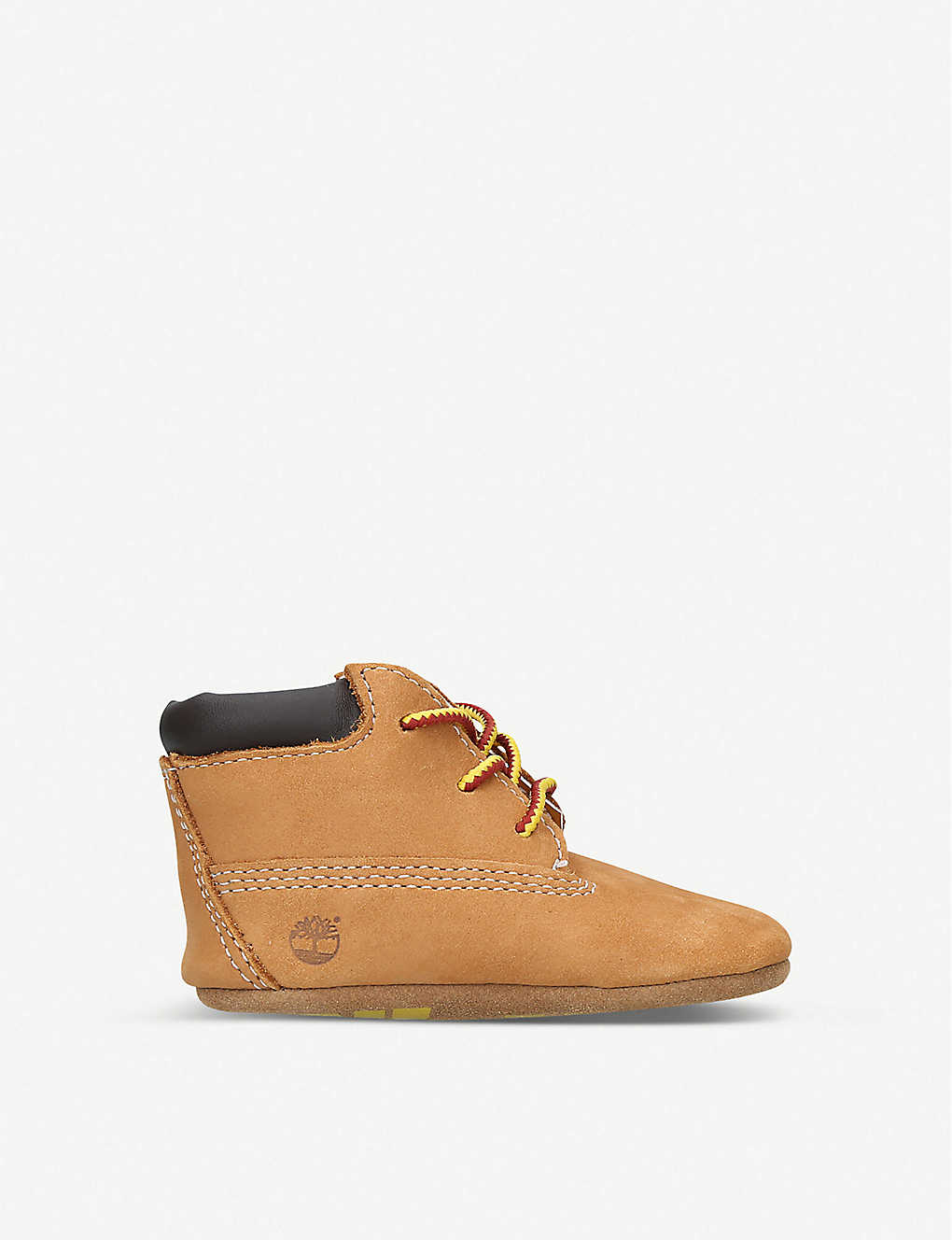 TIMBERLAND: Crib suede booties 0-6 months