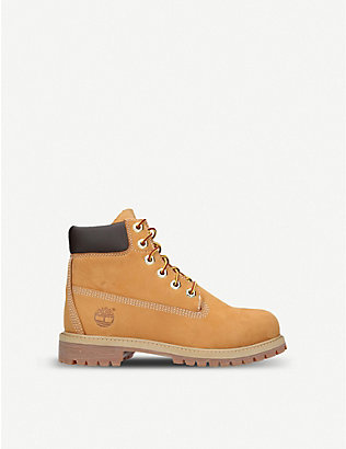 TIMBERLAND: 6-Inch Premium waterproof leather boots 9-10 years